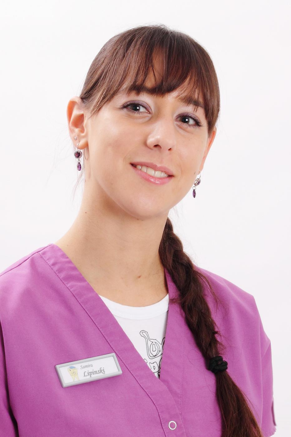 Zahnmedizinische Verwaltungsassistentin Samira Lipinski